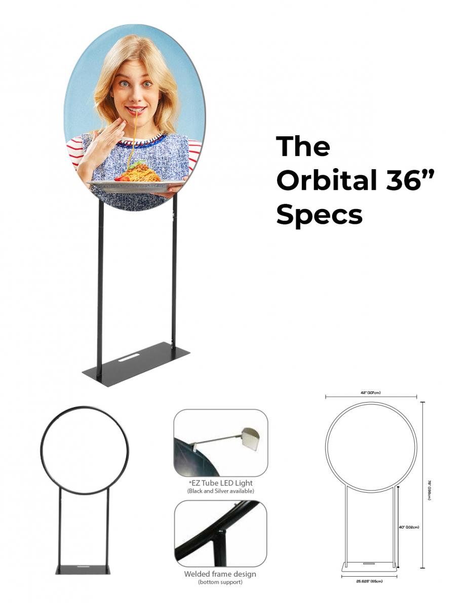 DisplayRabbit - The Modern – Orbital Stand – Specs