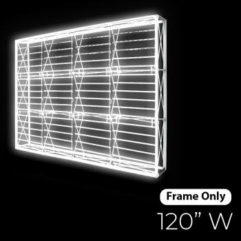 DisplayRabbit - The Vivid – Backlit – (10ft) – 120″x90″ – Frame Only