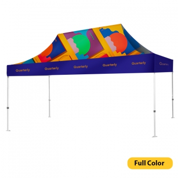 DisplayRabbit - Event Tent 15'x10′ – Full Color Canopy + Frame