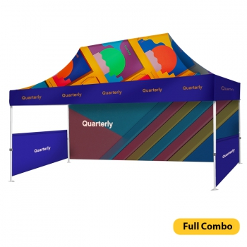 DisplayRabbit - Event Tent 15'x10′ – Full Combo