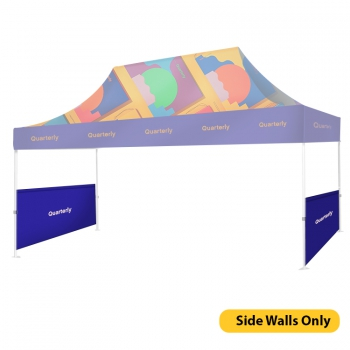 DisplayRabbit - Event Tent 15'x10′ – Side Walls Only
