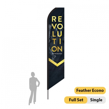 DisplayRabbit - 16ft Flag – Feather Econo Single