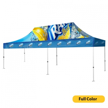 DisplayRabbit - Event Tent 20'x10′ – Full Color Canopy + Frame