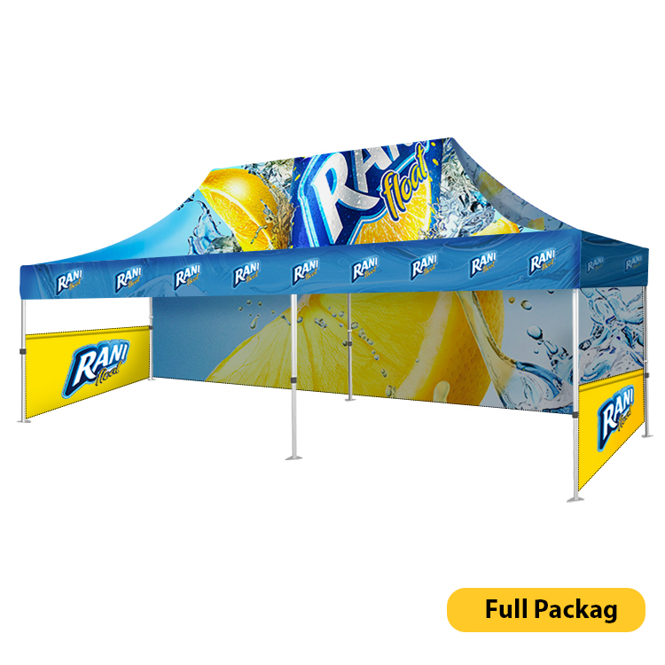 DisplayRabbit - Event Tent 20'x10′ – Full Combo