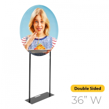 DisplayRabbit - The Modern – Orbital Stand – 36″ Double