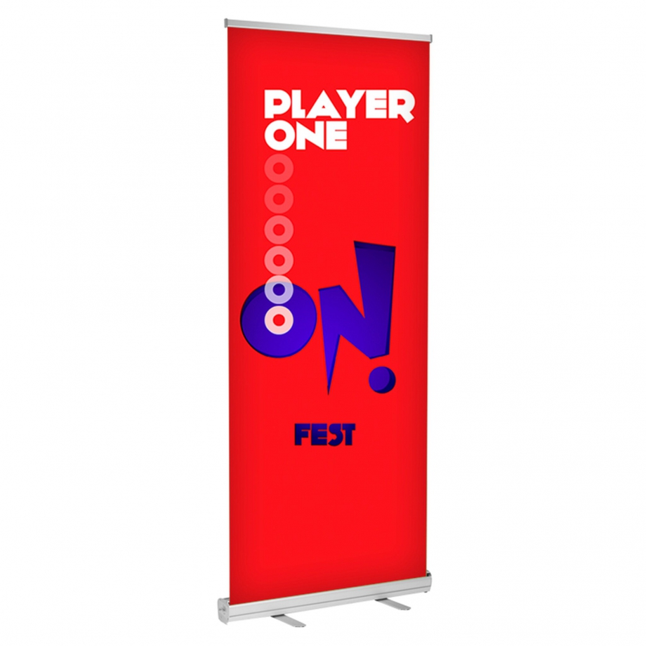 Best Basic Retractable Banner Stand Buy online - DisplayRabbit - The Basic Banner Stand