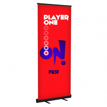 DisplayRabbit-TheBasic-BannerStand-Black
