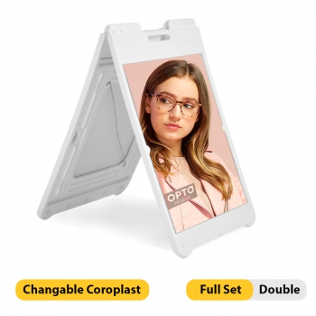 DisplayRabbit - Street Sign – Simposign Stand – Full Set – Double