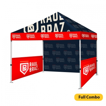 DisplayRabbit - Event Tent 10'x10′ – Full Combo (full color print)