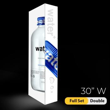 DisplayRabbit - The Vivid – Backlit – 30″x 90″ (2.5ft W) – Full Set Double